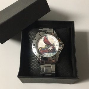 New St. Louis Cardinals Watch With Box